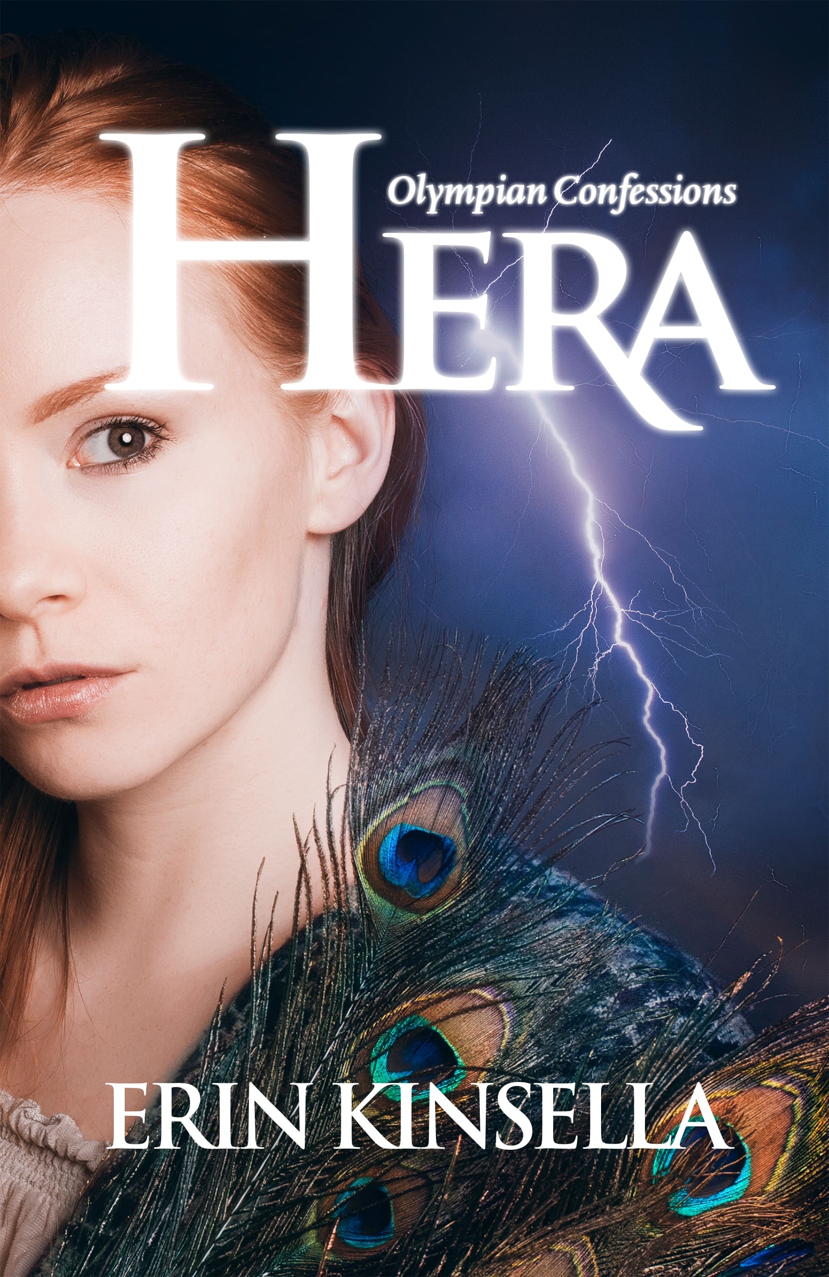 Olympian Confessions: Hera Book Front Cover